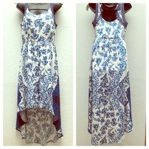Gorgeous Elle High Lo Floral Dress S